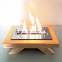 Stand Frêne + bloc de combustion M
